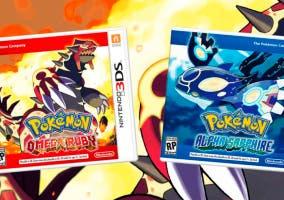 Cover Pokémon Rubí Omega y Zafiro Alfa