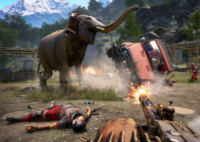 Far Cry 4 ataque con animales