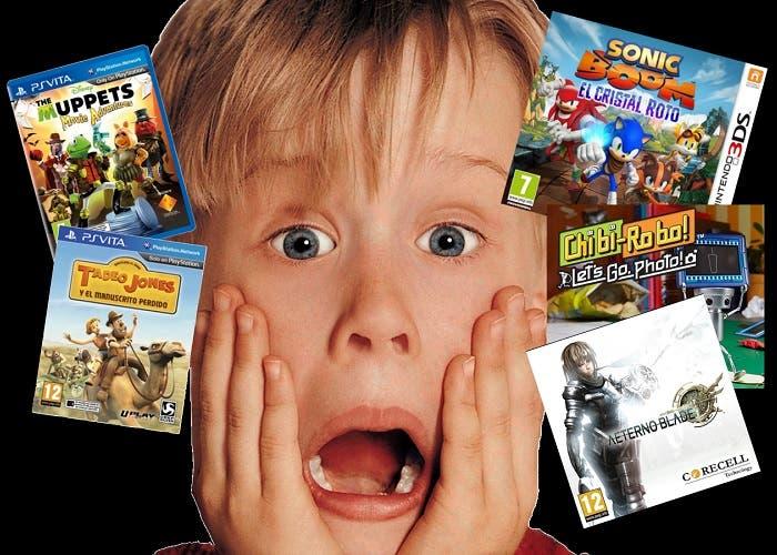 Peores juegos 3DS y Vita 2014