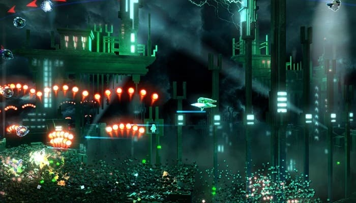Gameplay de Resogun
