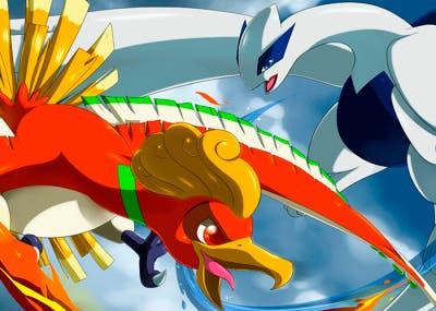 Lugia y Ho-oh en Pokémon Rubi Omega y Zafiro Alfa