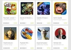 ofertas google play navidad 2014