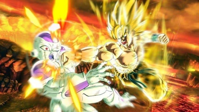 Imagen de combate Dragon Ball