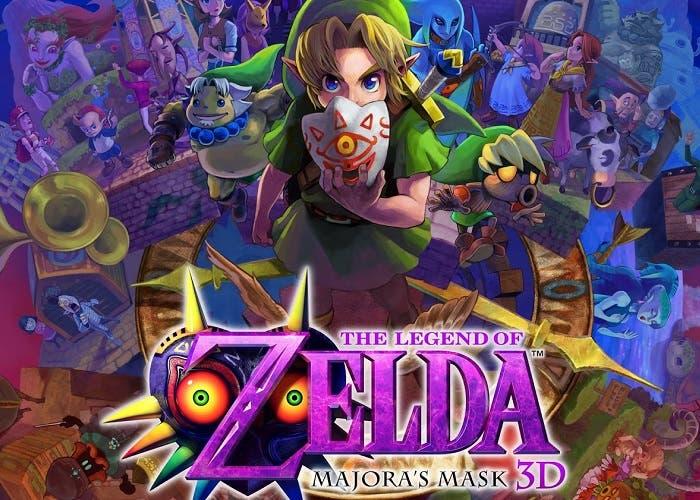 Zelda majora's mask 3d logo