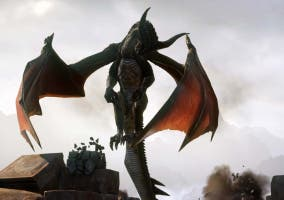 Dragon Age Inquisition combate dragón