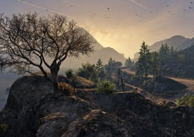 GTA V PC paisaje
