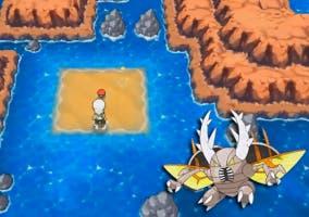 Pinsirita y Megapinsir en Pokémon Rubí Omega y Zafiro Alfa