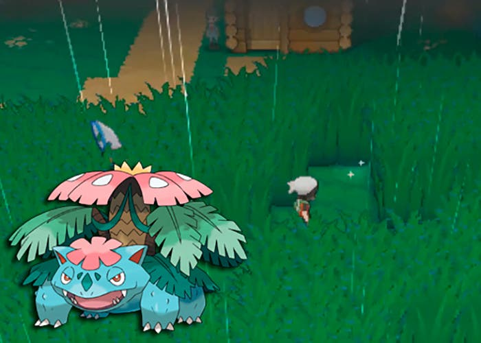 Megavenasaur venasaurita en Pokémon Rubí Omega y Zafiro Alfa