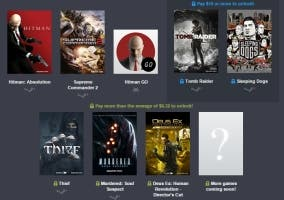 Humble bundle square enix tomb raider sleeping dogs