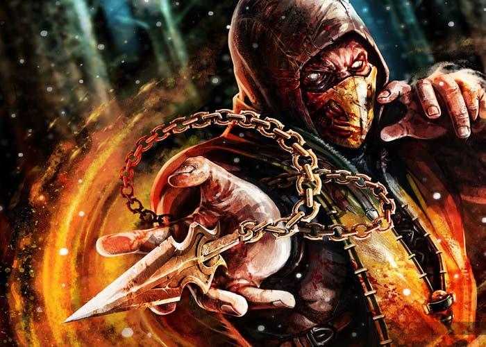 Imagen de Scorpion Mortal Kombat X