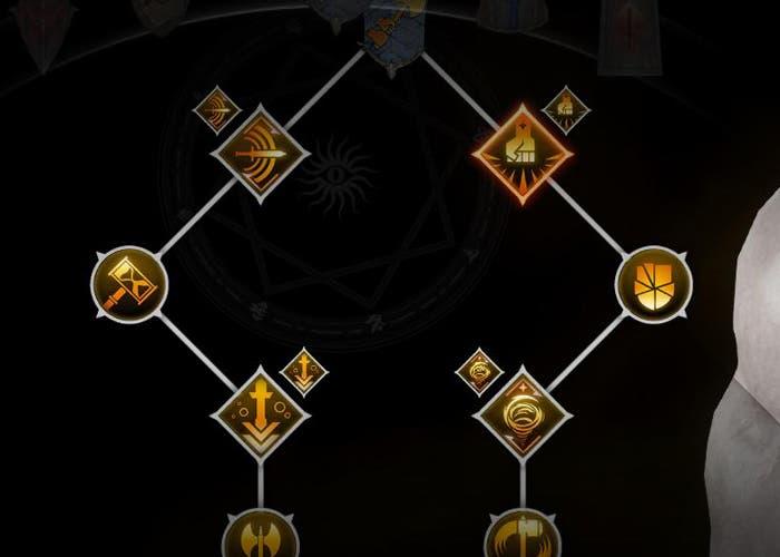 Habilidades guerrero dos manos Inquisition