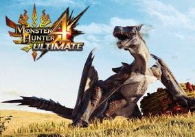 Monster Hunter 4 Ultimate dragon logo