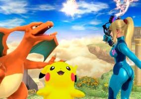 Pikachu y Charizard Super Smash Bros U, conseguir todos los Pokémon
