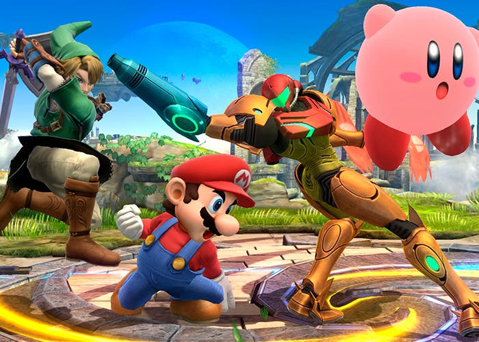Super Smash Bros U personajes todos los accesorios