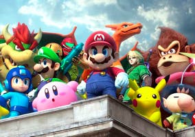 Personajes Super Smash Bros U conseguir goldones