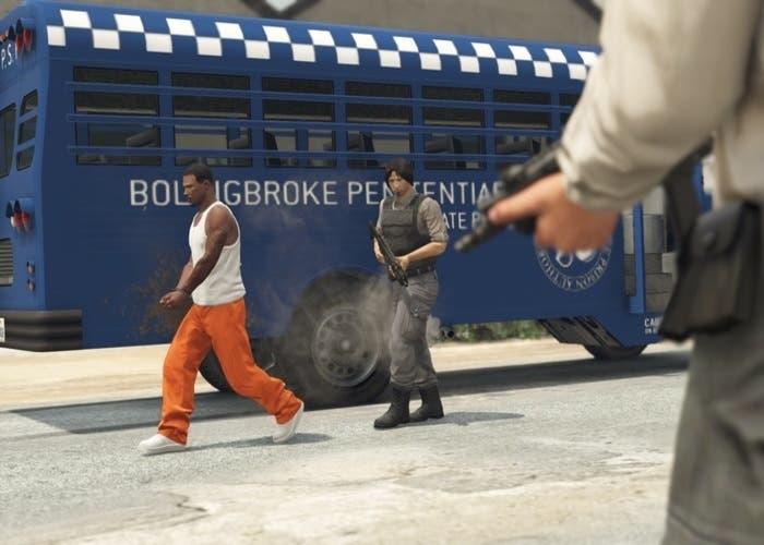 Autobus de la prisión