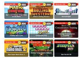 Juegos catálogo de estrellas Club Nintendo