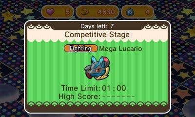 Evento Mega-Lucario Pokemon Shuffle imagen principal