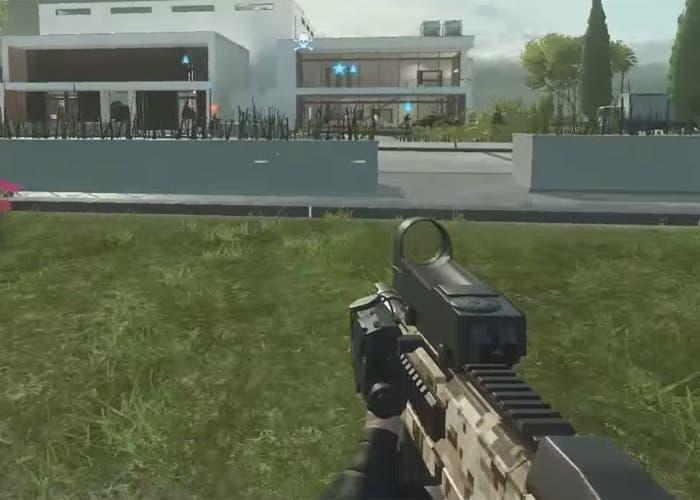 Battlefield Hardline FMG9