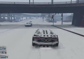 GTA V nevado