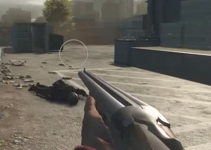 Battlefield Hardline Escopeta Doble Cañón