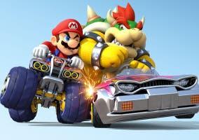Mario Kart 8 choque 200cc