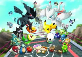 Pokémon Rumble World partida en cancha