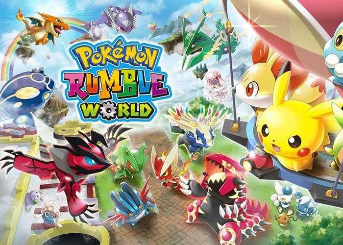 Pokémon Rumble World portada free-to-play