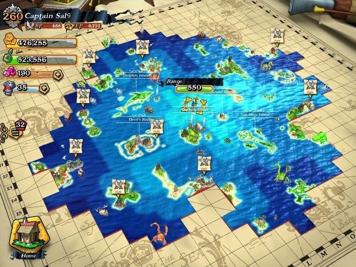 Mapa Plunder pirates