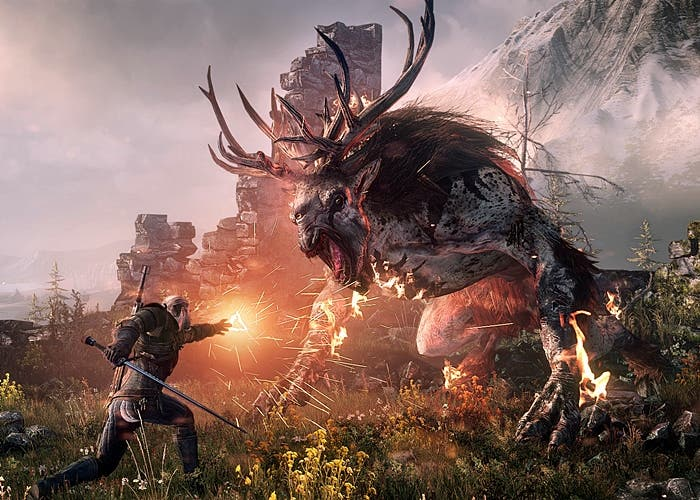 Escena de The Witcher 3
