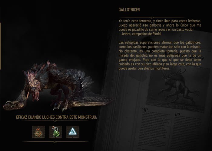 the witcher 3 bestiary pdf