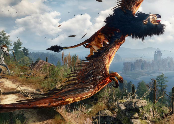Witcher 3 Grifo Real