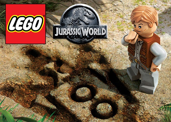 LEGO Jurassic World portada