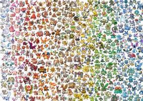 Listado de Pokémon imagen todos