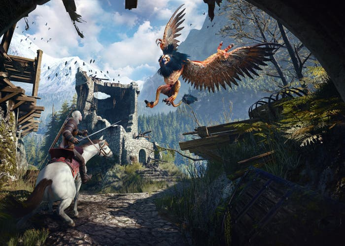 The Witcher 3 grifo