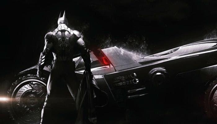 Batman y su Batmóvil