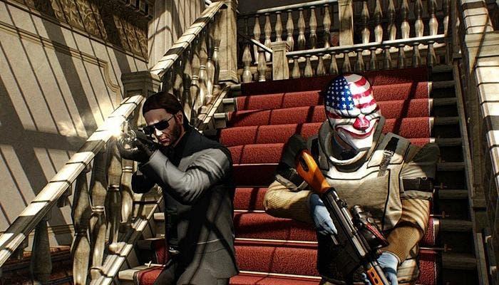 Escena del juego PayDay 2 Crimewave Edition