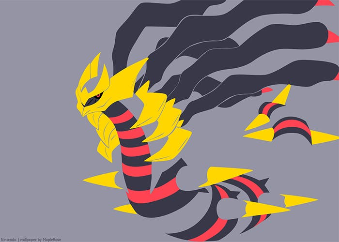 Giratina en Pokémon Shuffle devianart