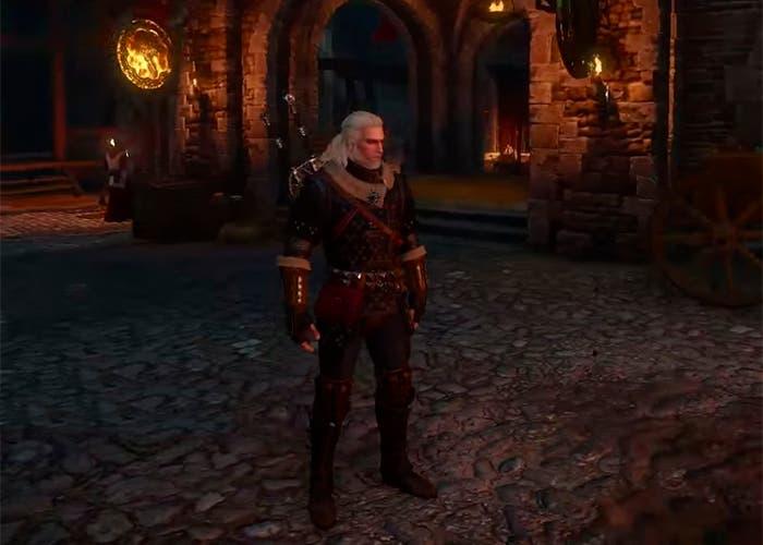 The Witcher 3 armadura felina magistral