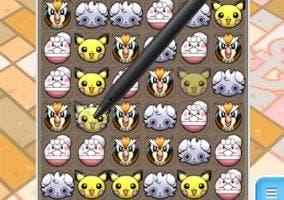 Pokémon Shuffle elección in game