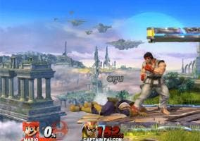 Ryu y Roy Super Smash Bros U actualizacion