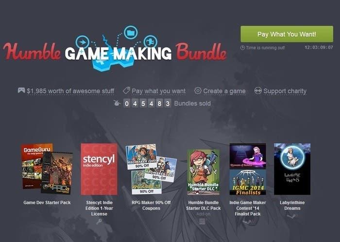 Humble Game Making Bundle