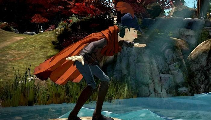 Imagen in-game de King's Quest de PS4