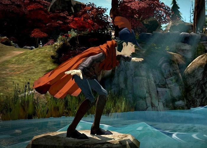 Imagen in-game de King's Quest de PS4