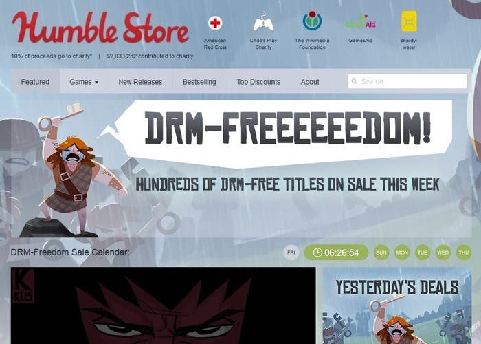 Rebajas Humble Bundle Store