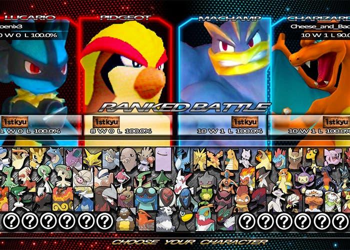 Portada Pokken Tournament elegir personaje