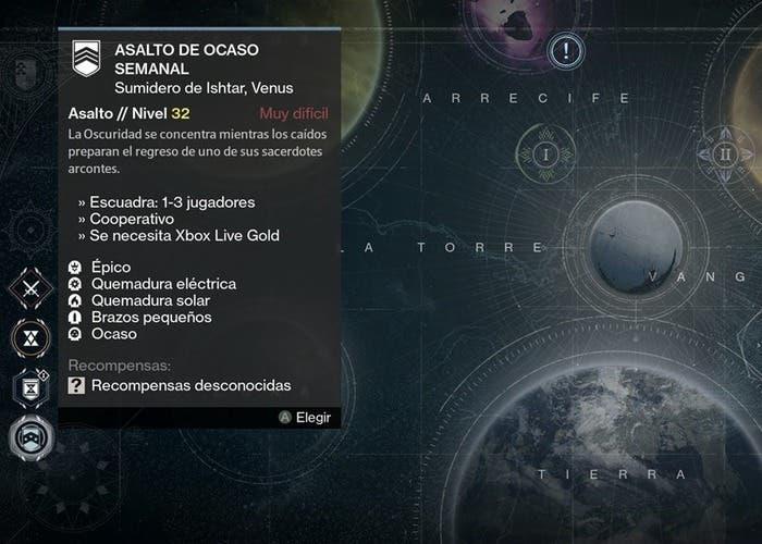 Destiny reseteo 11 agosto