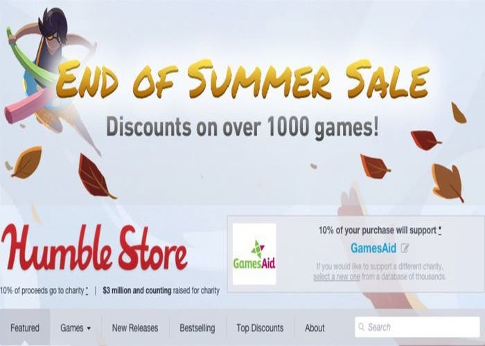 Rebajas verano Humble Store