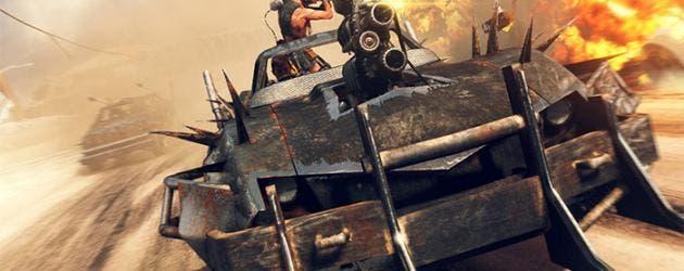 Mad Max combate coche