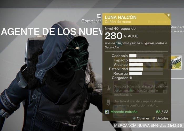 Destiny Xûr 25 septiembre